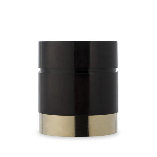 Morrison ottoman round black lacquer  sonder living treniq 1 1526882829237