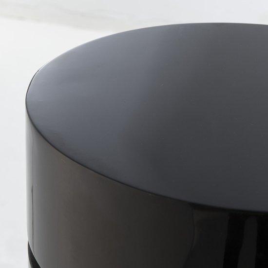 Morrison ottoman round black lacquer  sonder living treniq 1 1526882829219