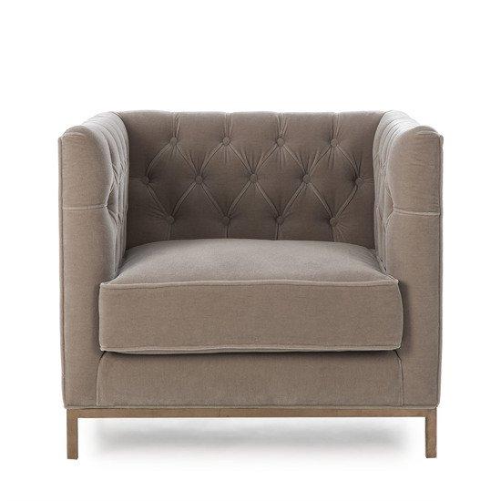 Vinci tufted occasional chair mohair  sonder living treniq 1 1526883073459
