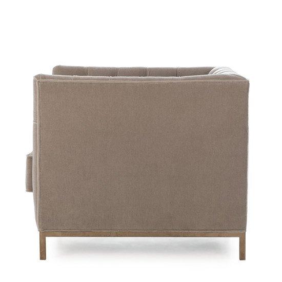 Vinci tufted occasional chair mohair  sonder living treniq 1 1526883073475