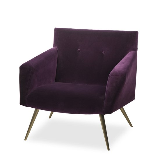 Kelly occasional chair vadit deep purple  sonder living treniq 1 1526883262269