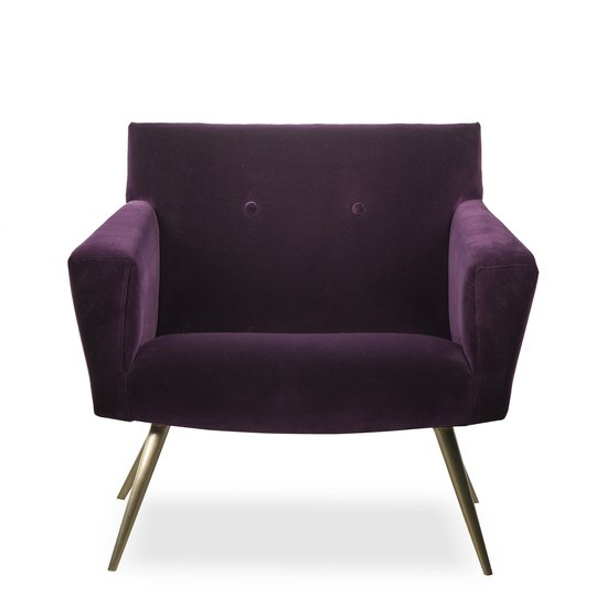 Kelly occasional chair vadit deep purple  sonder living treniq 1 1526883262303