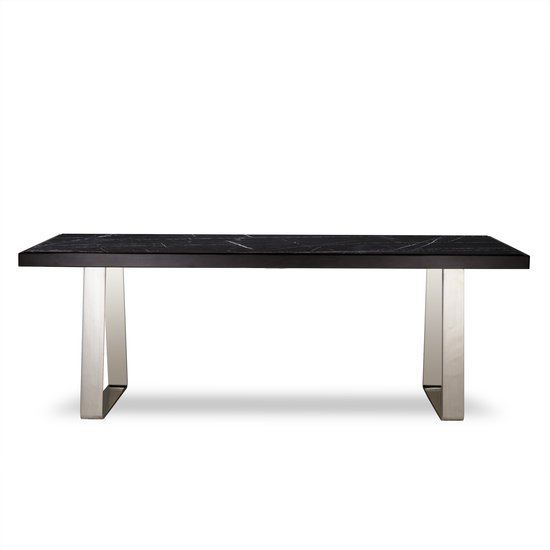 Jopling dining table black marble  sonder living treniq 1 1526905253928