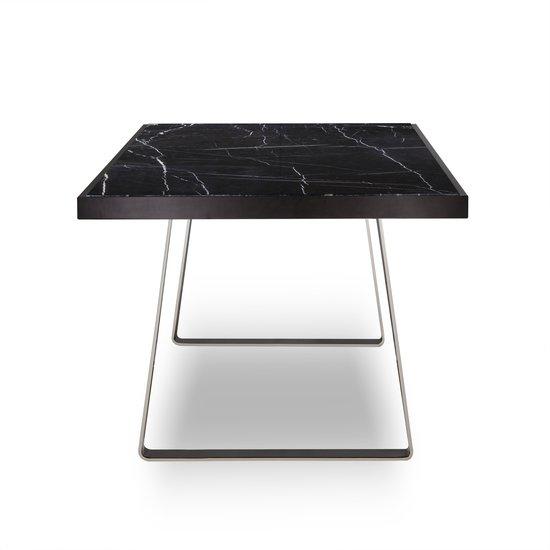 Jopling dining table black marble  sonder living treniq 1 1526905258228
