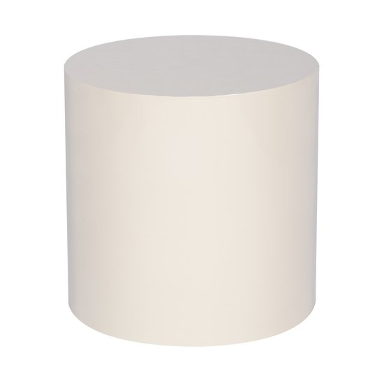 Morgan accent table round snow lacquer  sonder living treniq 1 1526905317445