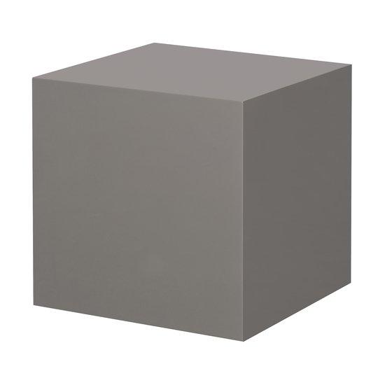 Morgan accent table square grey lacquer  sonder living treniq 1 1526906239425