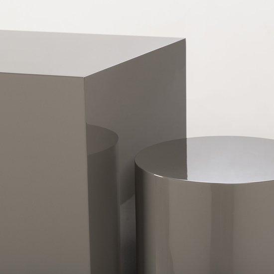Morgan accent table square grey lacquer  sonder living treniq 1 1526906239438