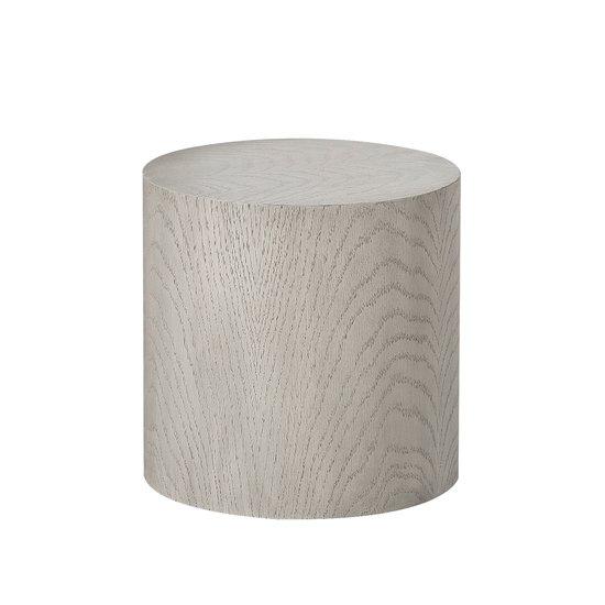 Morgan accent table round oak  sonder living treniq 1 1526906603064