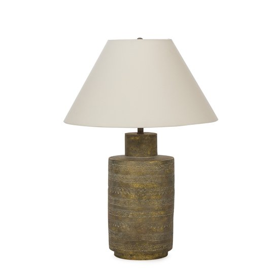 Ceramic fez lamp gold sonder living treniq 1 1526906929107