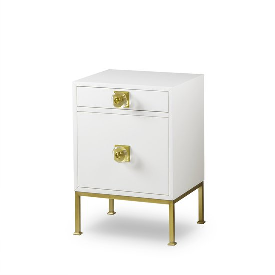 Formal nightstand white lacquer sonder living treniq 1 1526907068774
