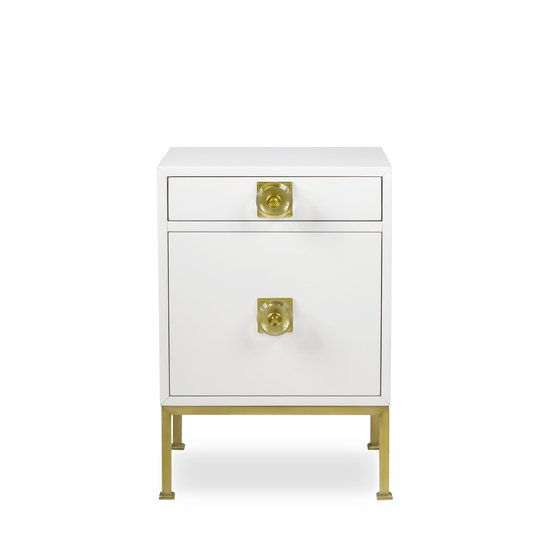 Formal nightstand white lacquer sonder living treniq 1 1526907068803