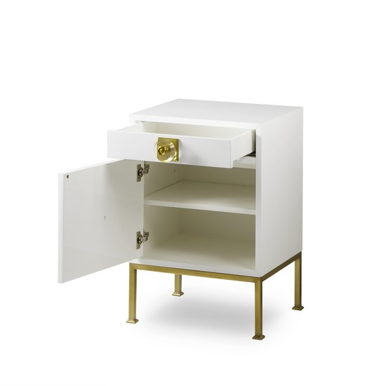 Formal nightstand white lacquer sonder living treniq 1 1526907079007