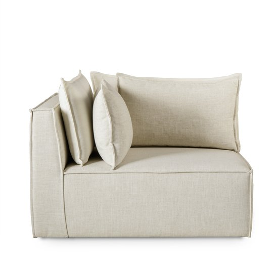 Charlton modular sofa corner chair madison dove fabric (uk) sonder living treniq 1 1526907793706