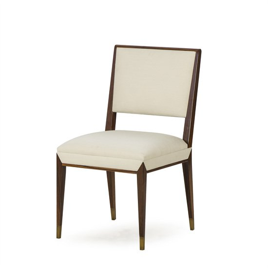 Reform side chair rosewood cream fabric sonder living treniq 1 1526907963773