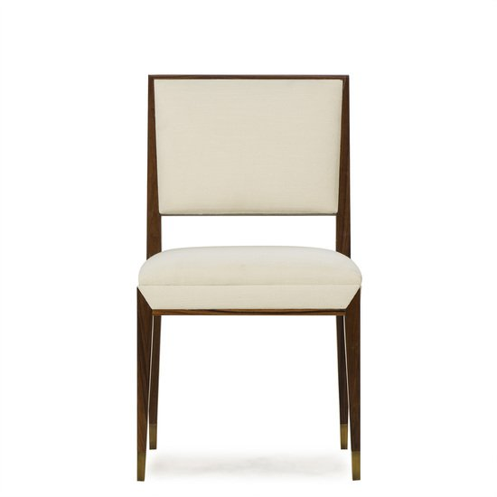 Reform side chair rosewood cream fabric sonder living treniq 1 1526907963780