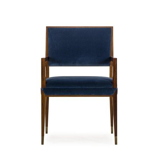 Reform arm chair rosewood vana blue velvet sonder living treniq 1 1526908077512