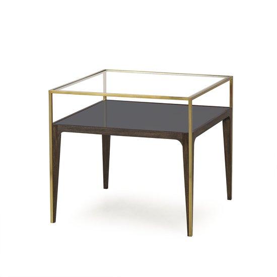 Silhouette side table smoked glass sonder living treniq 1 1526908419083