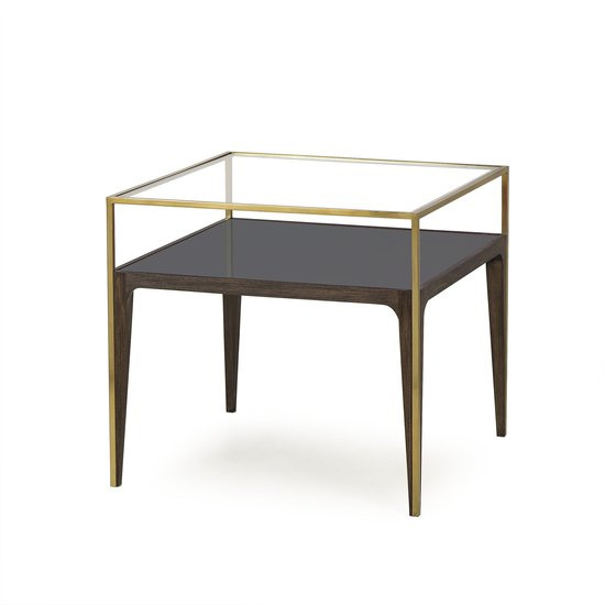 Silhouette side table smoked glass sonder living treniq 1 1526908419078