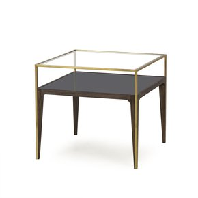 Silhouette-Side-Table-Smoked-Glass_Sonder-Living_Treniq_0