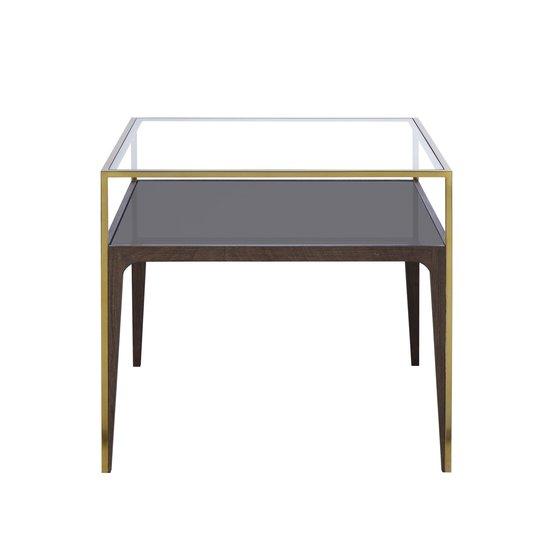 Silhouette side table smoked glass sonder living treniq 1 1526908419088
