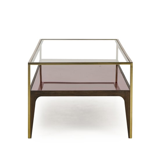Rubylite coffee table pink glass sonder living treniq 1 1526908694349