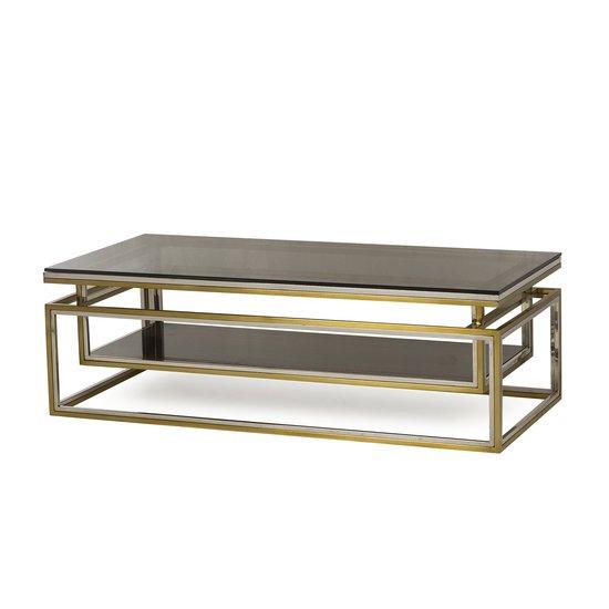 Drop shelf coffee table smoked glass sonder living treniq 1 1526908735718