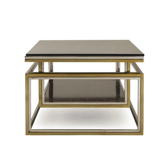 Drop shelf coffee table smoked glass sonder living treniq 1 1526908735762