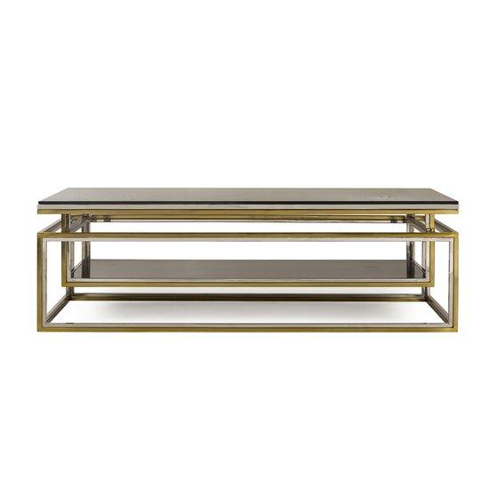 Drop shelf coffee table smoked glass sonder living treniq 1 1526908735759