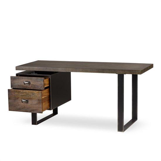Charles desk single ped concrete  sonder living treniq 1 1526969406334