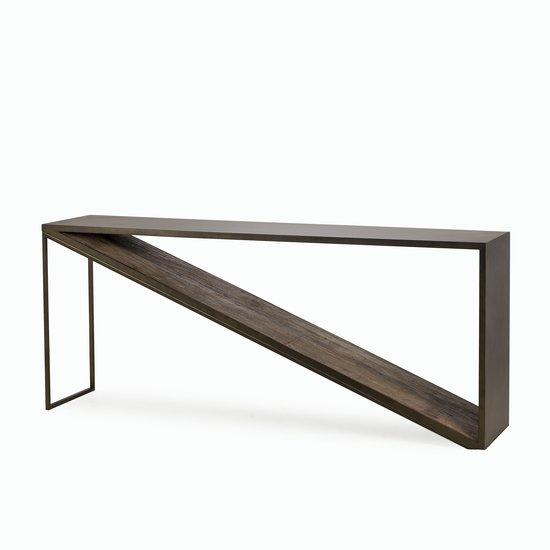 Triangle console table  sonder living treniq 1 1526969903455