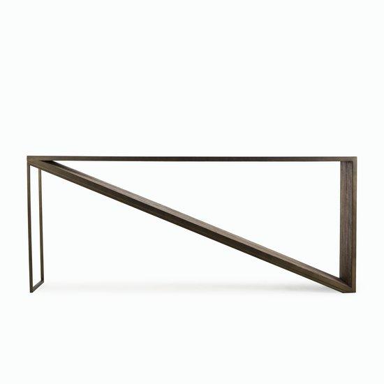Triangle console table  sonder living treniq 1 1526969903463