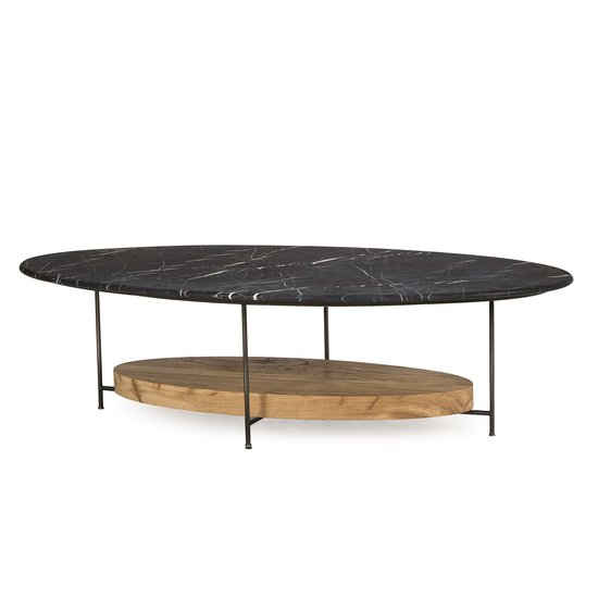 Olivia coffee table black marble  sonder living treniq 1 1526970901537