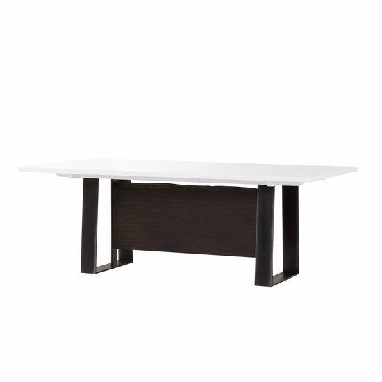 Jordan dining table white acrylic  sonder living treniq 1 1526971041526