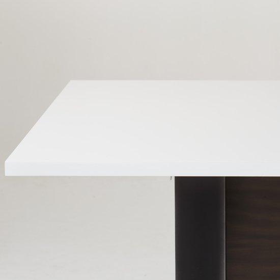Jordan dining table white acrylic  sonder living treniq 1 1526971041552