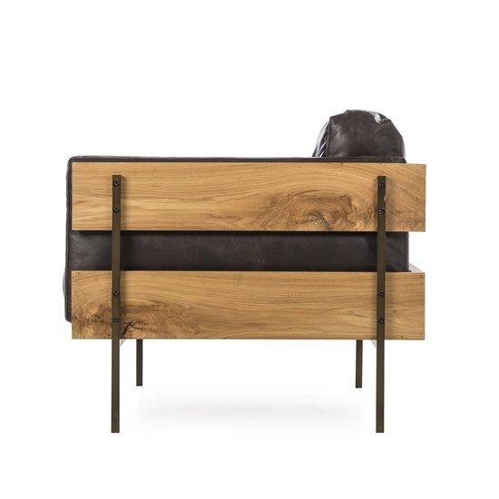 Carson ii chair antique espresso leather  sonder living treniq 1 1526972346384