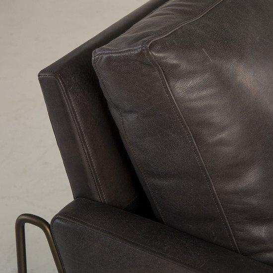 Vanessa chair destroyed black leather  sonder living treniq 1 1526972500017