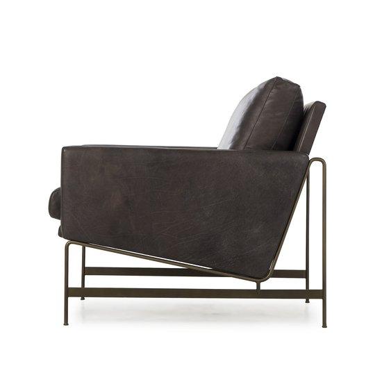 Vanessa chair destroyed black leather  sonder living treniq 1 1526972505069