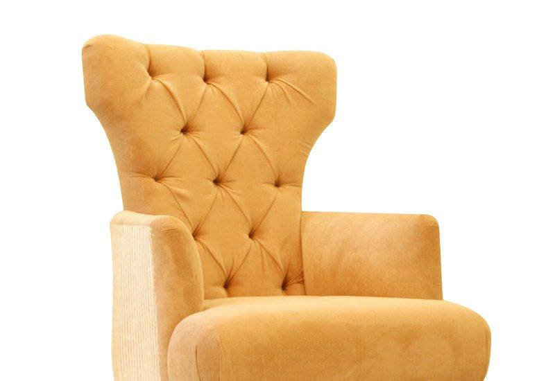 Modern art deco armchair hayat 1870 treniq 2