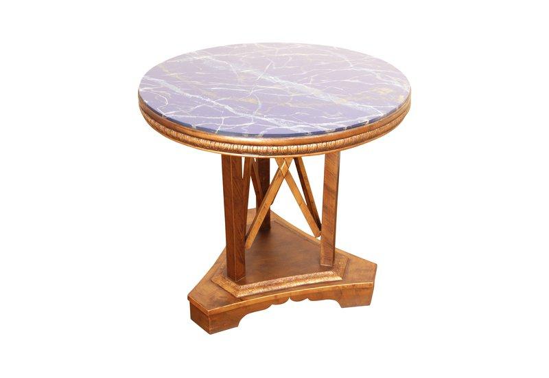 Modern art deco end side table hayat 1870 treniq 1