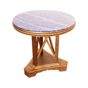 Modern Art Deco End Side Table - Hayat 1870 - Treniq