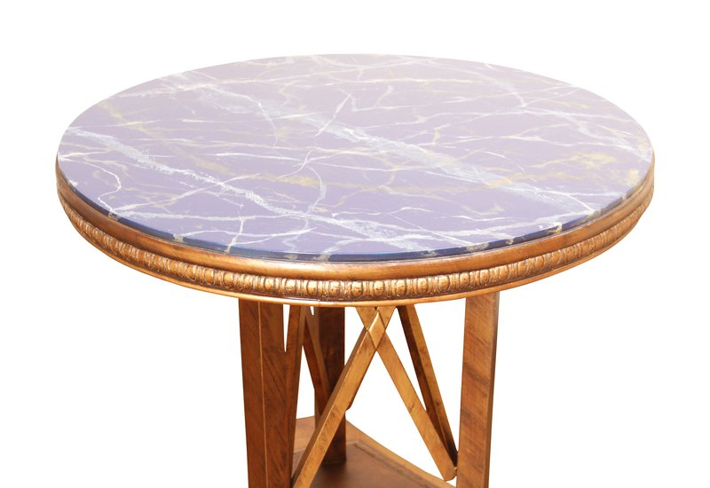 Modern art deco end side table hayat 1870 treniq 2