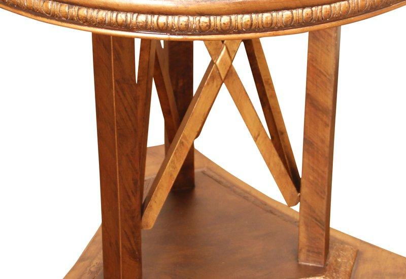 Modern art deco end side table hayat 1870 treniq 4