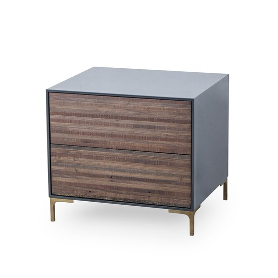 Zuma nightstand 2 drawer  sonder living treniq 1 1526977968978