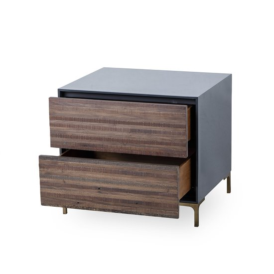 Zuma nightstand 2 drawer  sonder living treniq 1 1526977969026