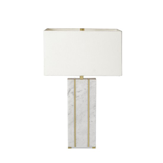 Marble table lamp rectangular by nellcote sonder living treniq 1 1526978663497