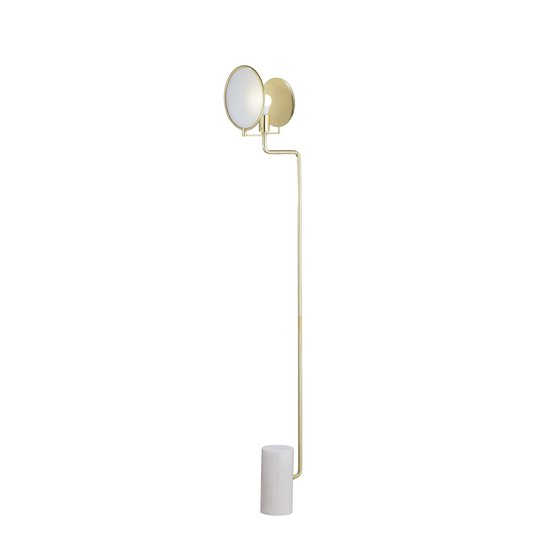 Eclipse floor lamp brass by nellcote sonder living treniq 1 1526978682522
