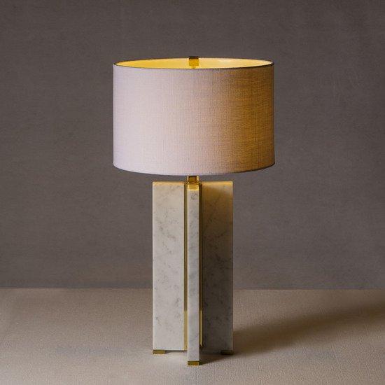 Marble table lamp cross by nellcote sonder living treniq 1 1526978778886