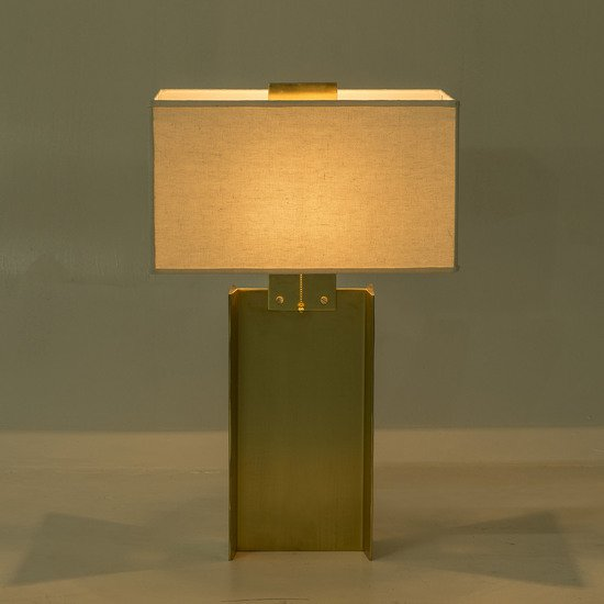 I beam lamp large brass by nellcote sonder living treniq 1 1526979632599