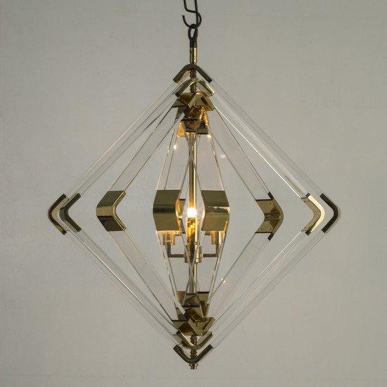 Spiral acrylic diamond 5 layer brass by nellcote sonder living treniq 1 1526979747931