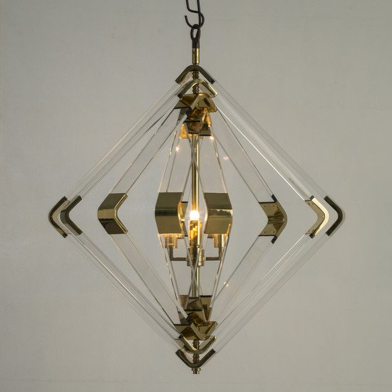 Spiral acrylic diamond 5 layer brass by nellcote sonder living treniq 1 1526979756761